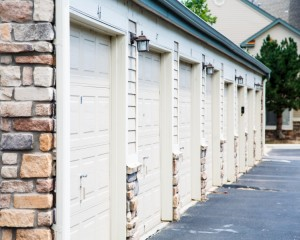 8503878-row-of-garage-doors